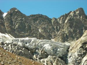 Il Ghiacciaio sud del Mulinet - (ph. M.Blatto)